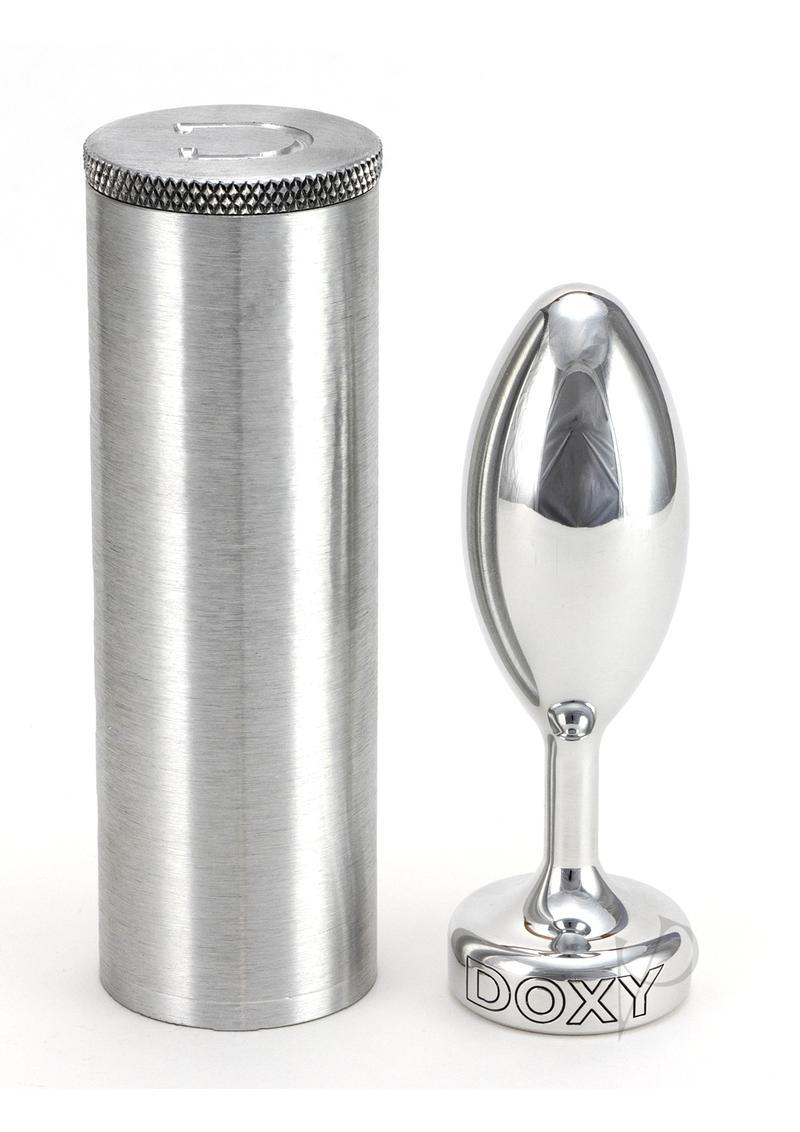 Doxy Smooth Butt Plug Metal Non Vibrating